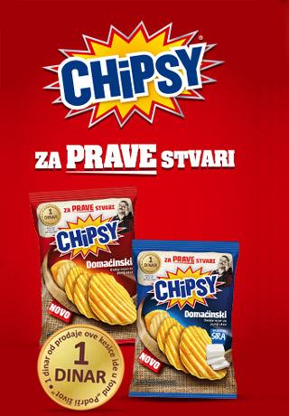 Chipsy Domaćinski za prave stvari