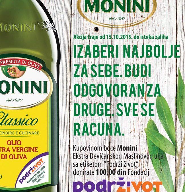 Monini i Podrži Život u zajedničkoj akciji