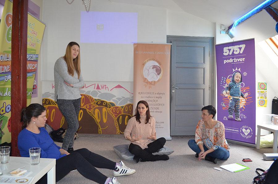 Održana humanitarna radionica za trudnice