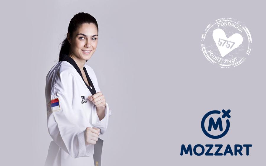 """Kompanija """"Mozzart"""" i Milica Mandić donirali 107.500,00 RSD"""