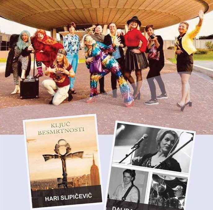 """Humanitarna promocija knjige """"Ključ besmrtnosti"""" i predstava """"Ladiestours"""""""
