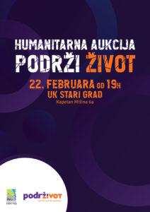 Humanitarna aukcija plakat 2