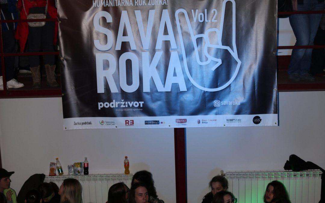 """Na humanitarnoj rok žurki """"Sava Roka Vol.2"""" prikupljeno 80.340,00 RSD"""