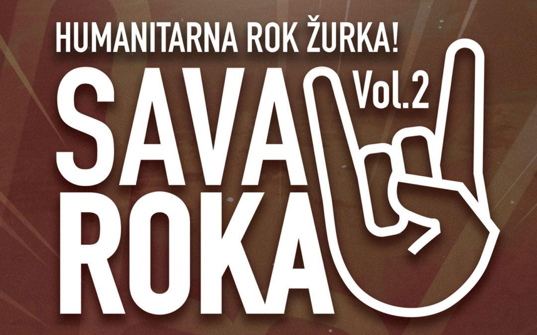 "HUMANITARNA ROK ŽURKA ""SAVA ROKA""  9. MAJA"