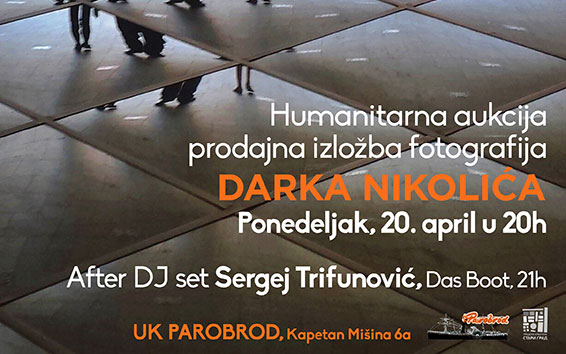 Humanitarna aukcija i prodajna izložba Darka Nikolića