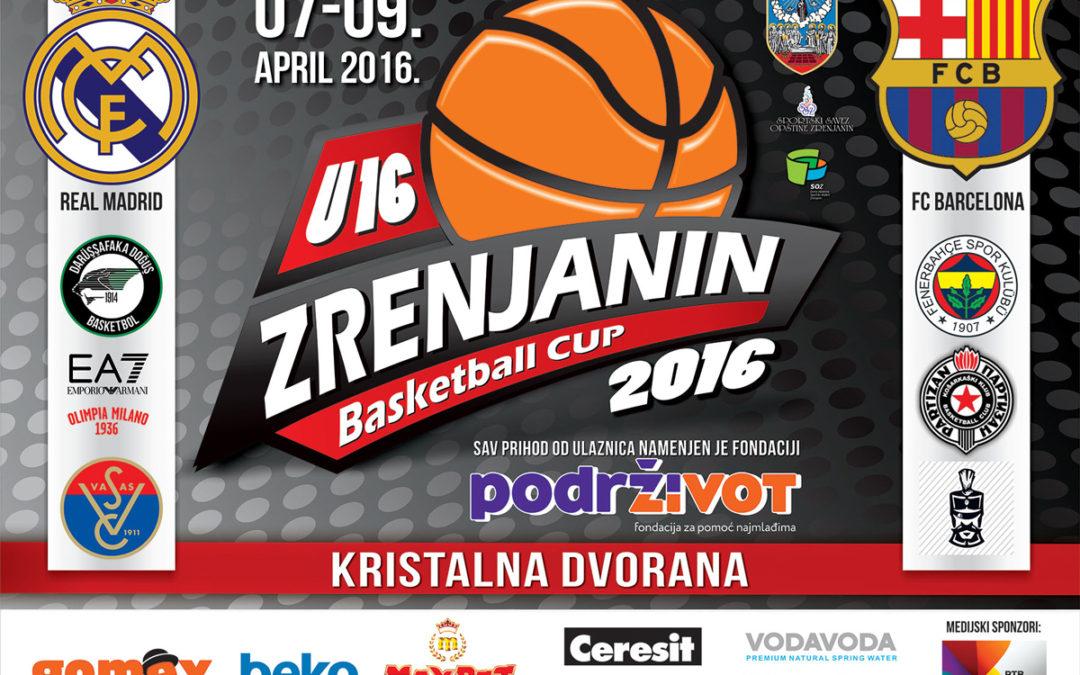 Basketball Cup U16 Zrenjanin Za Fondaciju Podrži Život