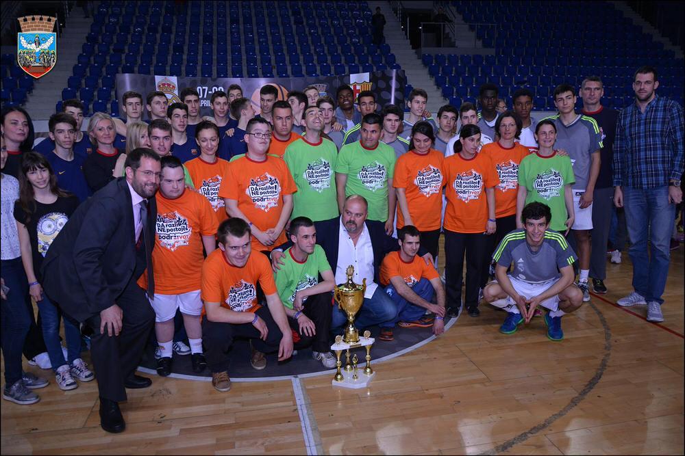 """Na turniru """"Basketball Cup U16 Zrenjanin"""" prikupljeno 91.096,00 dinara za fondaciju """"Podrži život"""""""