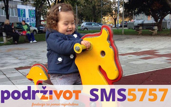 Fondacija Podrži život zajedno sa roditeljima Sofije Nikolić prikupila 122.456,70 Eur