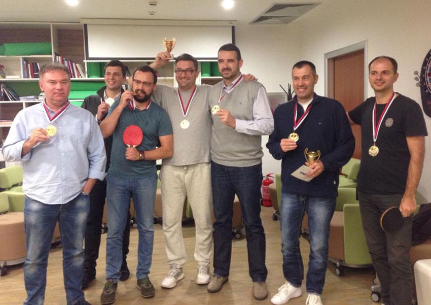 Zaposleni kompanije Filip Moris na humanitarnom turniru u stonom tenisu prikupili 22.500 dinara za decu Fondacije Podrži život