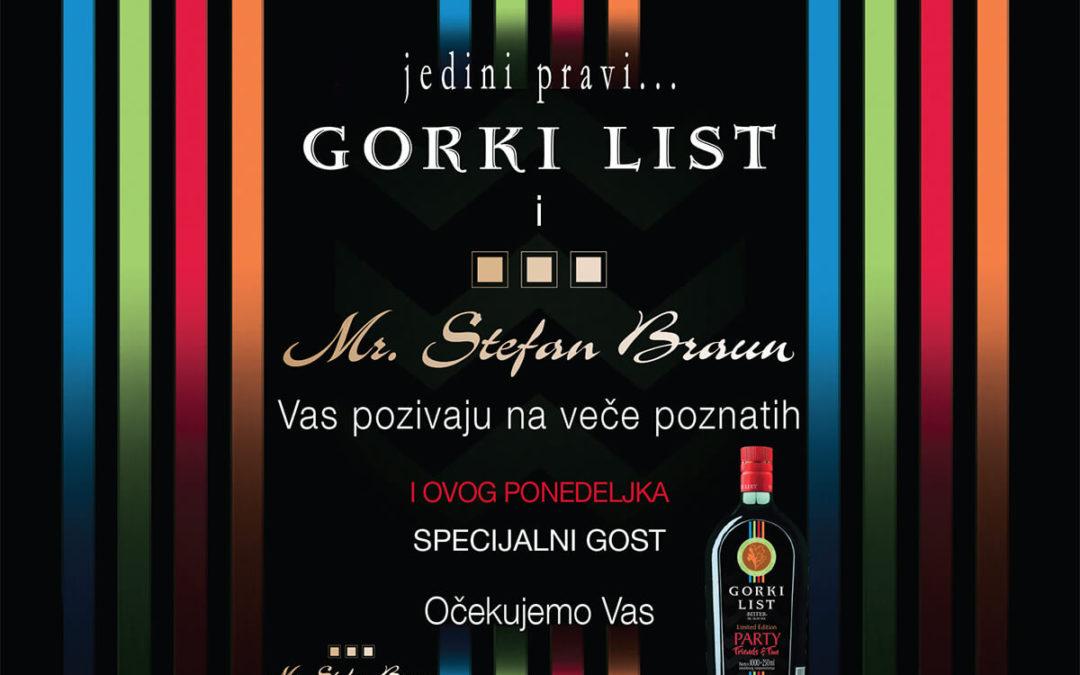Klub Stefan Braun i Gorki List podržavaju život