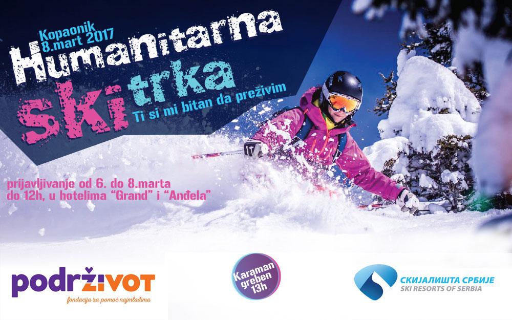 """Humanitarna ski trka """"Ti si mi potreban da preživim"""""""