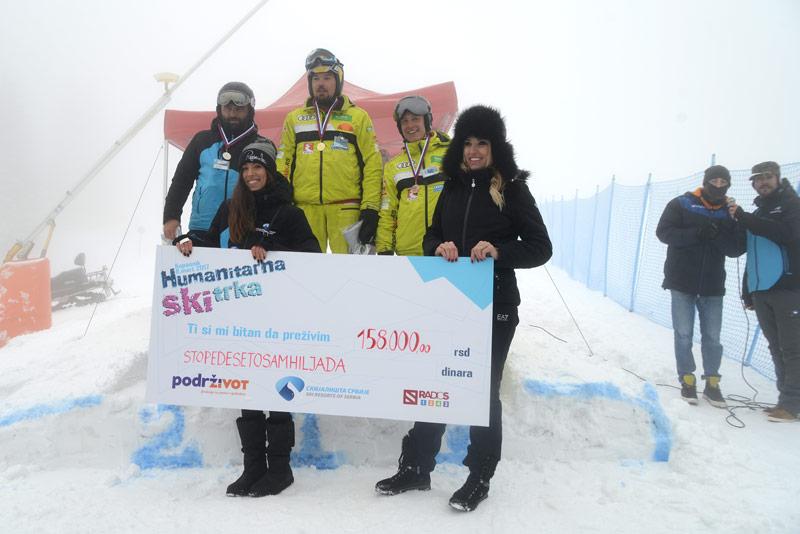 Na humanitarnoj ski trci na Kopaoniku prikupljeno 158.000,00 dinara