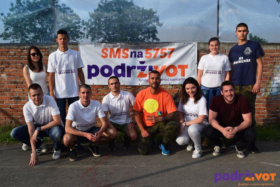 """Na turniru u malom fudbalu """"Boljevci 2017"""" prikupljeno 36.629,00 RSD"""